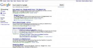 Google's new search design